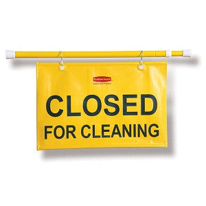 Rubbermaid 9S15 Site Safety Sign - Cleaning - English