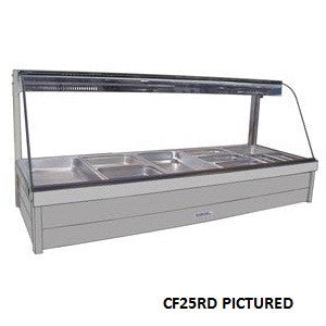 Roband CF25RD Food Bar -Piped Foamed Doors