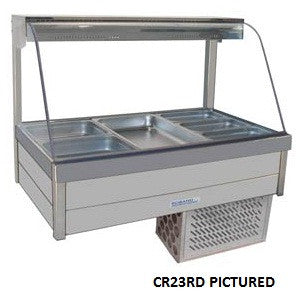 Roband CR22RD Food Bar - Cold Plate & Doors