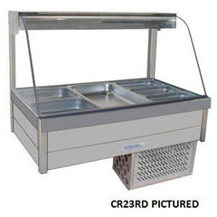 Roband CR25RD Food Bar - Cold Plate & Doors