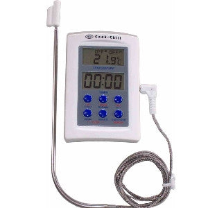 Cook Chill Food safe probe thermometer with Timer