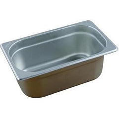 Stainless Steel Gastronorm Pan- 1/4 Size 150mm