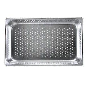 Gastronorm Pan-Stainless Steel 1/2 Size 100mm Perf