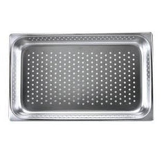 Gastronorm Pan-Stainless Steel 1/2 Size 150mm Perf