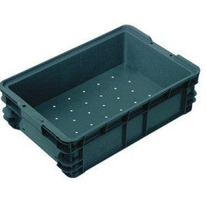 Nally IH025 25Lt Crate Solid Sides Vent. Base