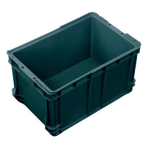 Nally IH026 50Lt Crate Solid Sides Vent. Base