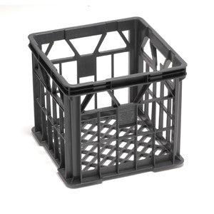 "Nally IH120 32Lt Ventilated ""Iconic Milk Crate"" - BLACK"