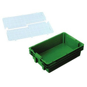 Nally IH2250-RD Series 2000 26L Solid Crate + Security Lid