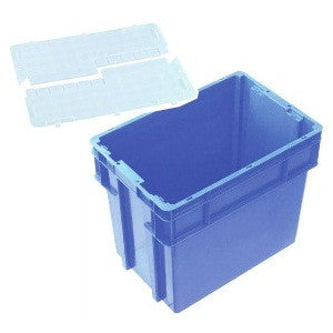 Nally IH2760 Series 2000 78L Solid Crate + Security Lid