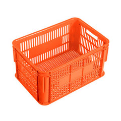 Nally IH300 66Lt Ventilated Crate ORANGE