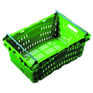 Nally IH3138 38Lt Ventilated Swing Bar Crate
