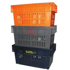 Nally IH518-GN 84Lt Vented Crate 740 x 422mm