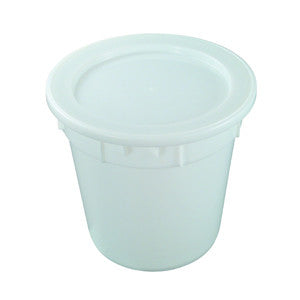Nally IP015-RD 67Lt Round Storage Bin Solid