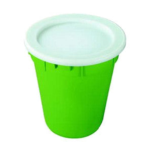 Nally IP018-GN 84Lt Solid Round Food Grade Bin