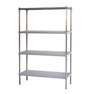 Mantova M-Span Stainless Steel 3 Tier 1200H 1050X460mm