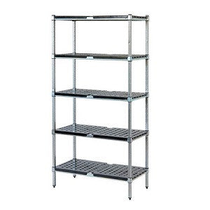 Mantova Stainless Steel w ABS 3 Tier 1200mmh 1200X300mm