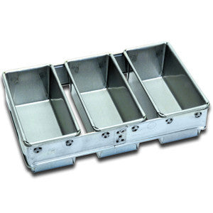 3 x 450g Loaf Pan Set Teflon
