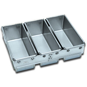 3 x 680g Loaf Pan 400 x 297mm