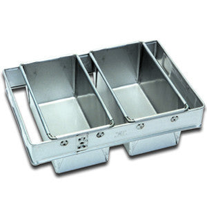 2 x 700-900g Loaf Pan Set Panglaze EB