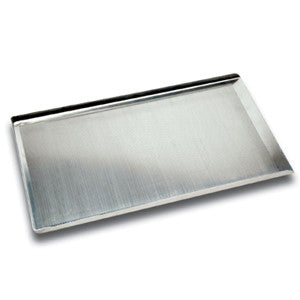 "18"" Flat Baking Trays Non Perf. 3 sided"