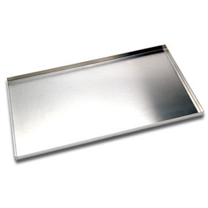 "18"" Flat baking Tray Non Perf. 4 Sided"