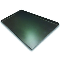 "18"" Flat Baking Trays Non Perf. 3 sided Teflon"