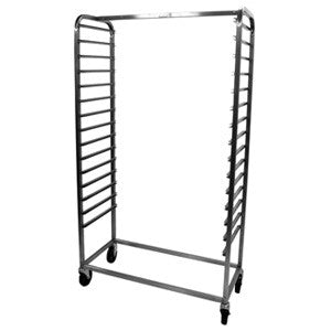 Cooling Rack/Trolley Straight Side loading 15 Shelves