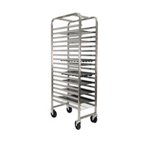 GN Tray Rack/Trolley Flat Pack - 18 Shelves