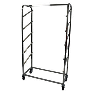 Cooling Rack/Trolley Angled Side loading 5 Shelves