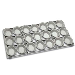 5 x 4 Lunch Pie tray Football Round Ball Panglaze
