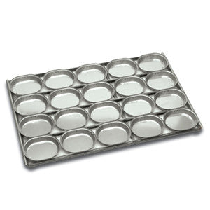 4 x 5 Lunch Pie tray Oval Panglaze