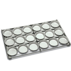 Lunch Pie tray Round Upright style Panglaze