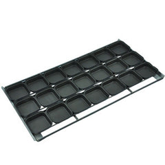 7 x 4 Lunch Pie tray Square Teflon