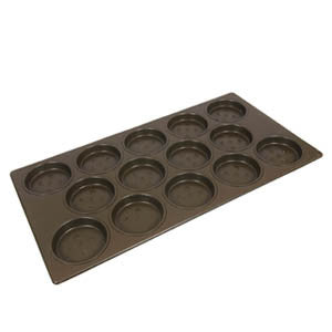 Hamburger Roll Tray Staggered Deep