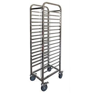 Mantova 1/1 Gastronorm Trolley - Flat Pack
