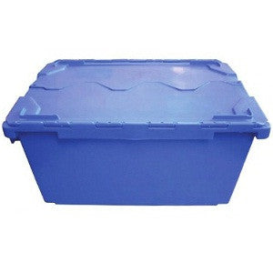 Nally NS393 75Lt Solid Security Crate Attached Lid