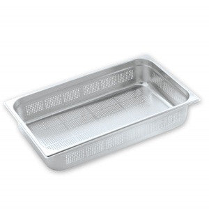 Gastronorm Pan-Stainless Steel 1/1 Size 100mm Perf Pujadas