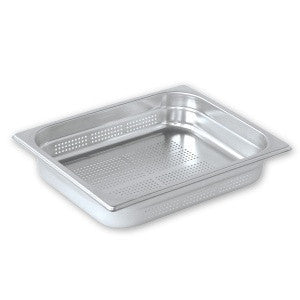 Gastronorm Pan-Stainless Steel 1/2 Size Perforated Pujadas