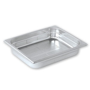 Gastronorm Pan-Stainless Steel 1/2 Size 100mm Perf Pujadas