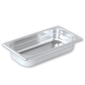 Gastronorm Pan-Stainless Steel 1/3 Size Perforated Pujadas