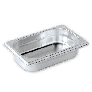 Gastronorm Pan-Stainless Steel 1/4 Size 100mm Pujadas
