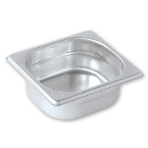 Gastronorm Pan-Stainless Steel 1/6 Size 100mm Pujadas