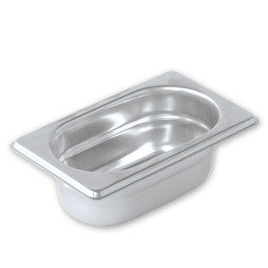 Gastronorm Pan-Stainless Steel 1/9 Size Pujadas