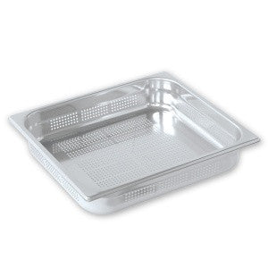 Gastronorm Pan-Stainless Steel 2/3 Size 100mm Perf Pujadas