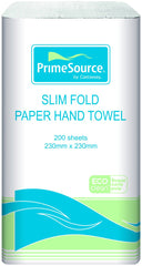 Eco-Clean Slim Fold Paper Hand Towel 230x230mm