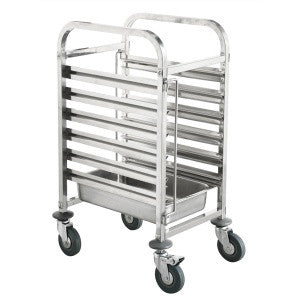 Gastronom Trolley Stainless Steel 1/1 - 6 Trays