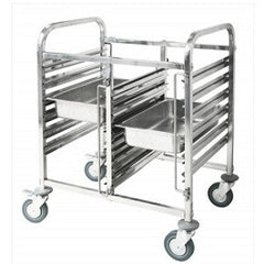 Gastronom Trolley Stainless Steel 1/1 - 12 Trays