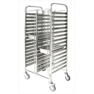 Gastronom Trolley Stainless Steel 1/1 - 36 Trays