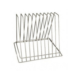 Cutting Board Storage Rack 6 Slotno Hooks