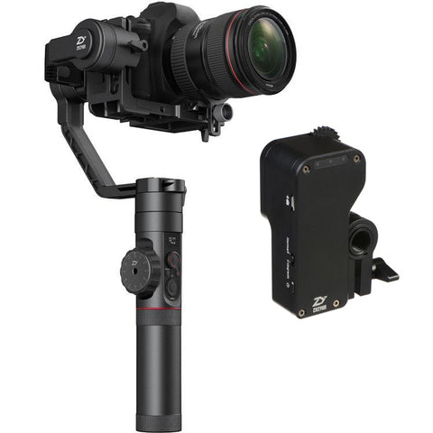 Zhiyun Crane 2 (Latest) | 3-Axis Gimbal for Mirrorless, DSLR, & Camcorders with FREE Follow Focus Motor